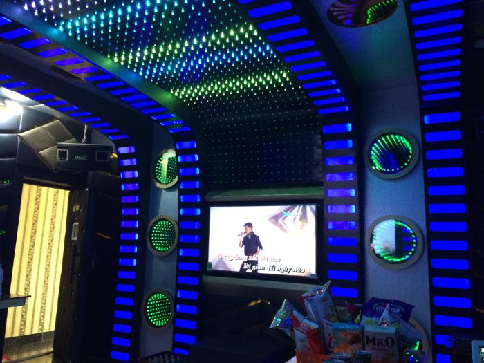 Chuyên thiết kế thi công phòng hát Karaoke tại Thái Nguyên