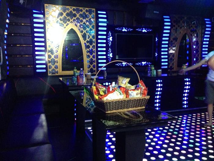 Công trình thi công phòng karaoke Vip đẹp ở Điện Biên