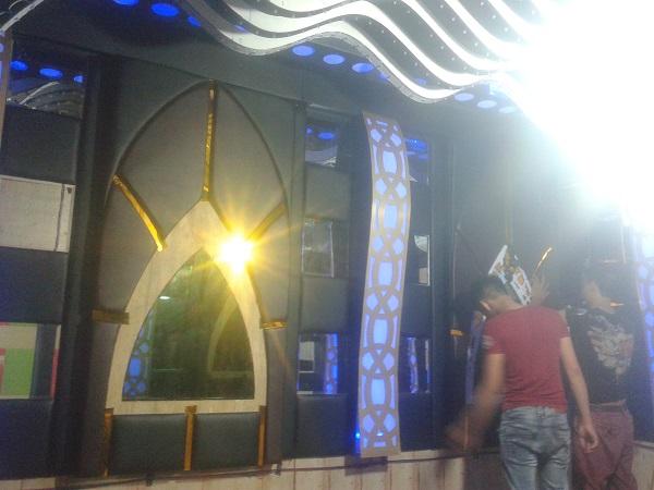 Công trình thi công phòng hát Karaoke trần bạch tuộc ở Hải Phòng