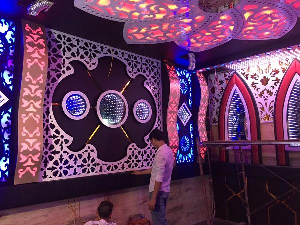 Thi công phòng hát karaoke rẻ đẹp tại Sìn Hồ Lai Châu