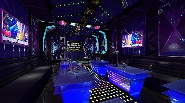 Thiết kế thi công phòng hát Karaoke đẹp tại Hải Phòng